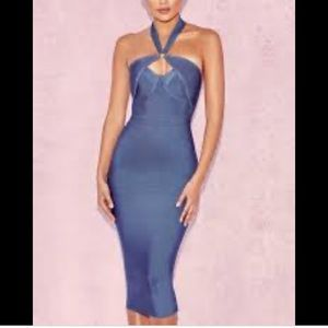 House of CB bandage midi dress